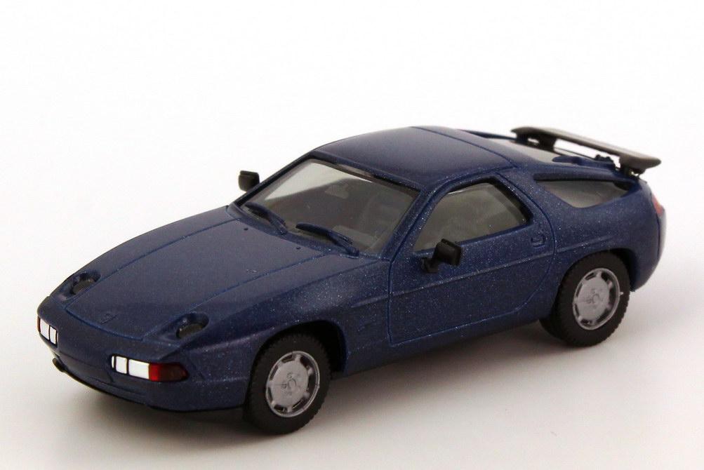 Foto 1:87 Porsche 928 S4 blau-met. herpa 3071