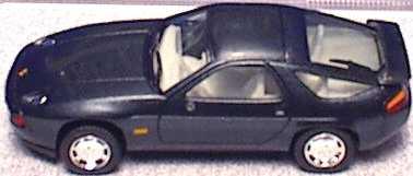 Foto 1:87 Porsche 928 S4 blauschwarz-met. (ohne Spiegel, oV) herpa