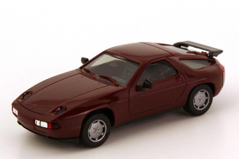 Foto 1:87 Porsche 928 S4 weinrot herpa 020718