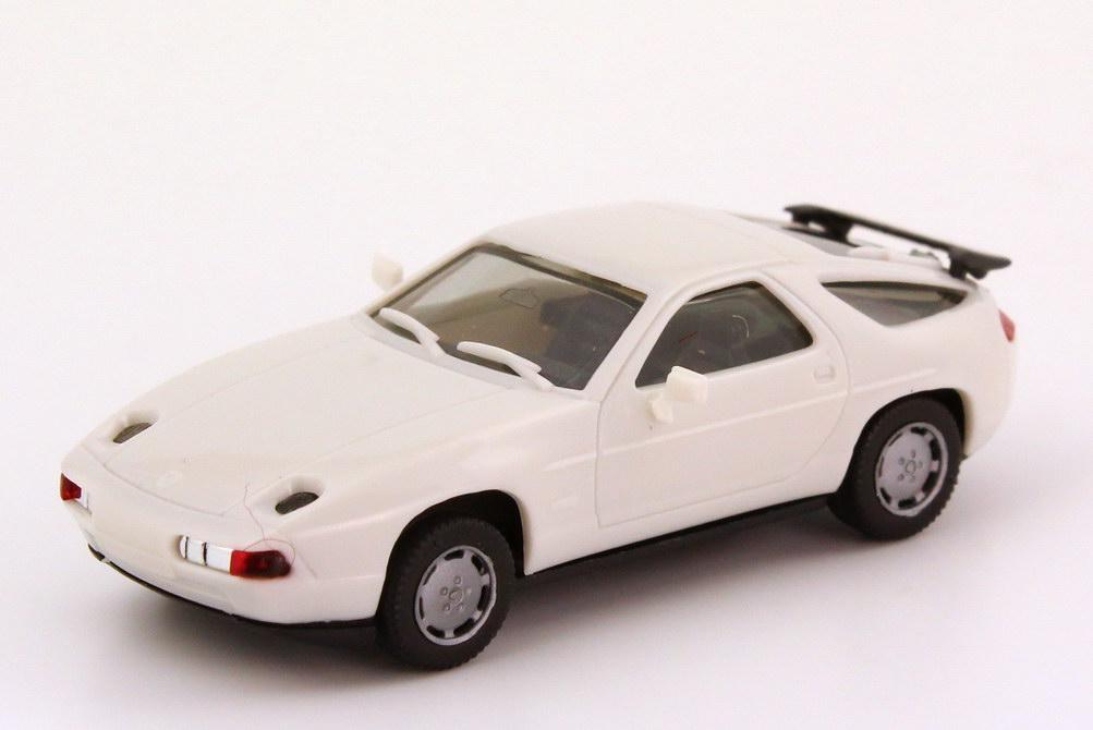 Foto 1:87 Porsche 928 S4 weiß, Spiegel in Wagenfarbe herpa 2071