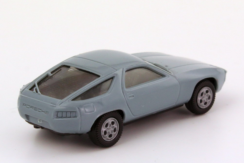 Foto 1:87 Porsche 928 blaugrau, Telefonfelgen - herpa 2013