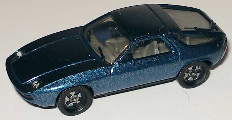 Foto 1:87 Porsche 928 blau-met. herpa 3013