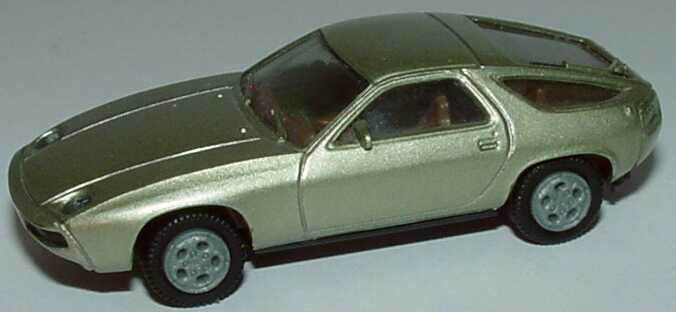 Foto 1:87 Porsche 928 hellgrün-met. herpa 3013
