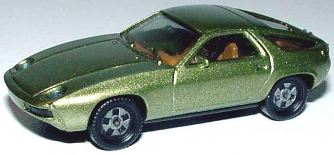 Foto 1:87 Porsche 928 olivgrün-met. herpa 3013