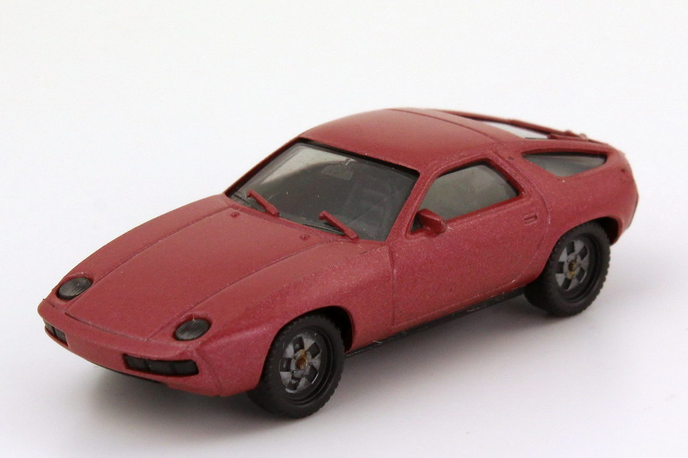 Foto 1:87 Porsche 928 rosérot-met. herpa 3013