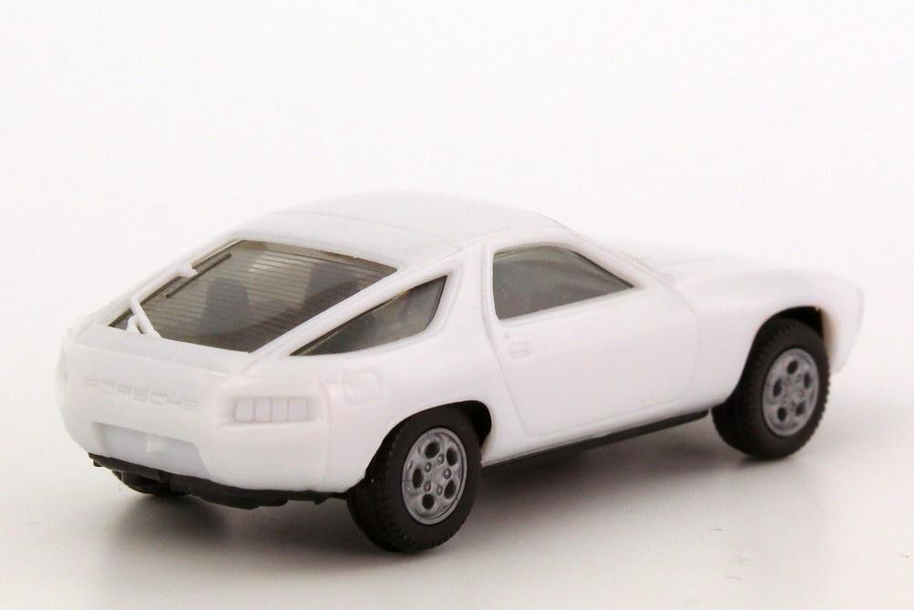 Foto 1:87 Porsche 928 weiß, Telefonfelgen, IA schwarz herpa 2013