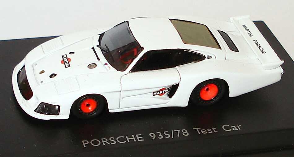 Foto 1:87 Porsche 935/78 Martini Porsche weiß Test Car Spark 87S014