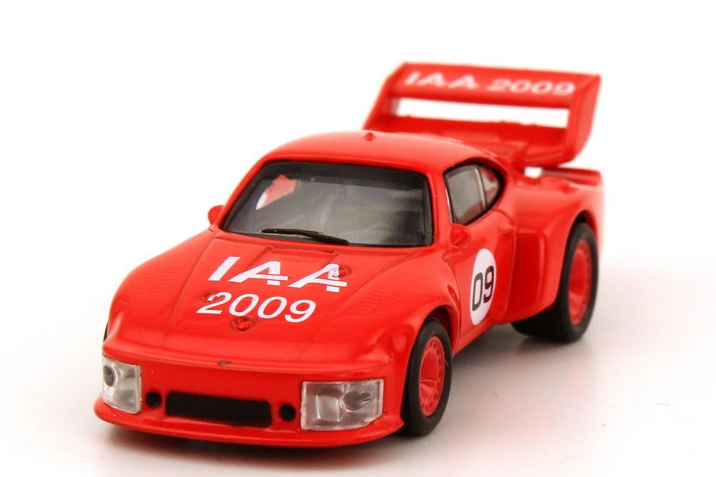 Foto 1:87 Porsche 935 Gruppe 5 rot IAA 2009 Schuco 25659