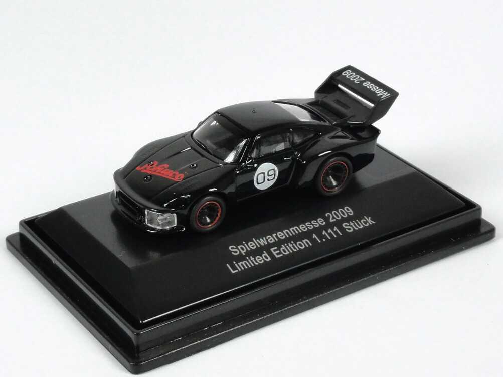 Foto 1:87 Porsche 935 Gruppe 5 schwarz Spielwarenmesse 2009 Schuco 25487