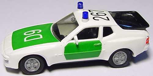 Foto 1:87 Porsche 944 Polizei D9, 267 herpa 042505
