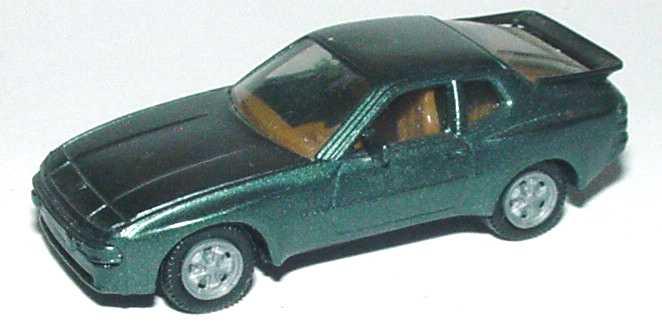 Foto 1:87 Porsche 944 dunkelgrün-met. (IA beige) herpa 3039