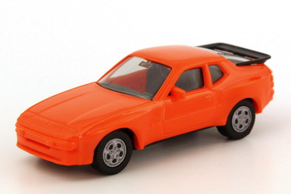 Foto 1:87 Porsche 944 orange, Telefonfelgen herpa 2039