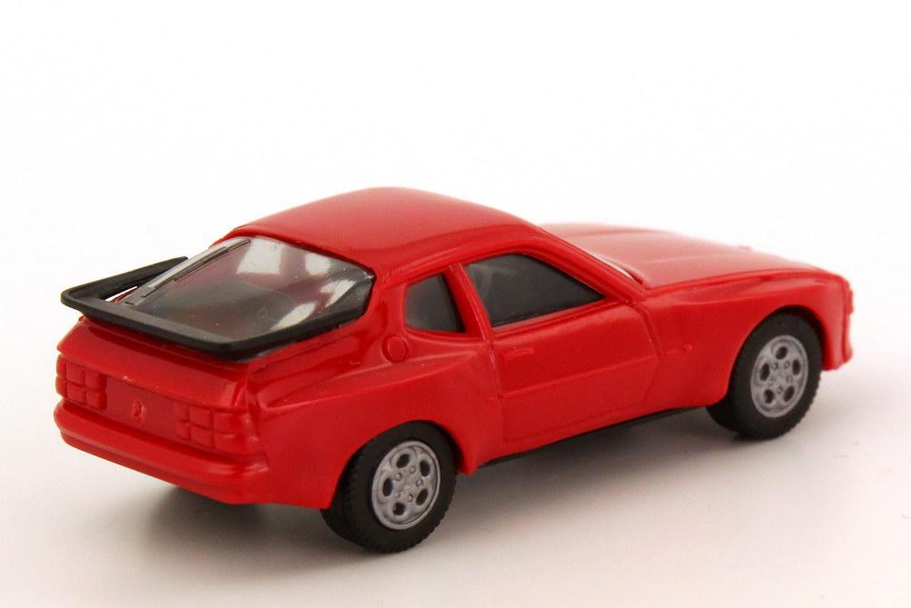 Foto 1:87 Porsche 944 rot, Telefonfelgen herpa 2039