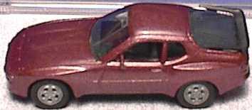 Foto 1:87 Porsche 944 rot-met. herpa 3039