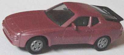 Foto 1:87 Porsche 944 rotrosé-met. herpa 3039