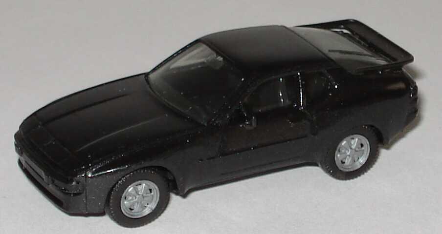 Foto 1:87 Porsche 944 schwarzmet., mit Fuchsfelgen herpa 3039