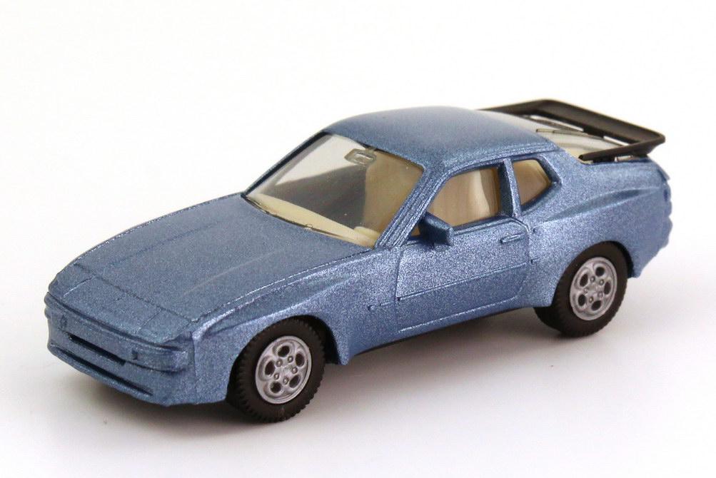 Foto 1:87 Porsche 944 silberblau-met., Telefonfelgen herpa 3039
