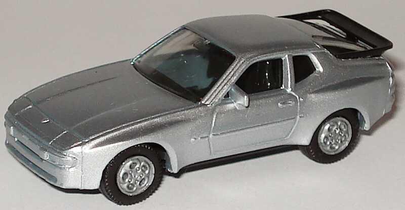 Foto 1:87 Porsche 944 silber-met. herpa 3039