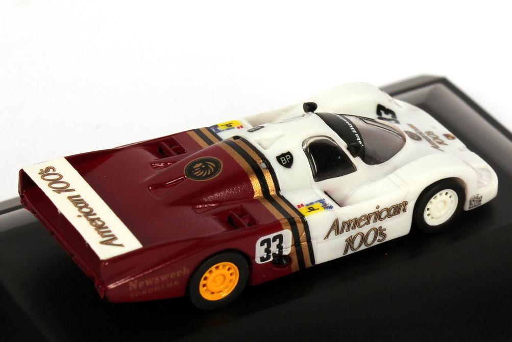 Foto 1:87 Porsche 956 L 24h von LeMans 1985 JFR American 100s Nr.33 Hobbs Gartner Edwards 4. Platz - Trumpeter 16116