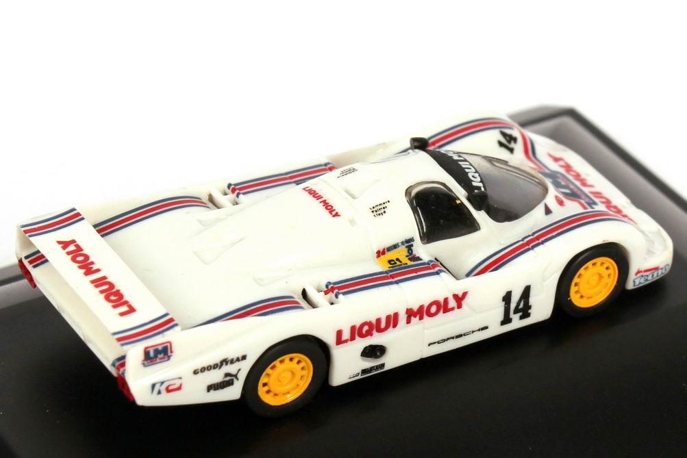 Foto 1:87 Porsche 956 L 24h von LeMans 1986 Liqui Moly Nr.14, Baldi / Cobb / Dyson (9. Platz) Trumpeter 16105