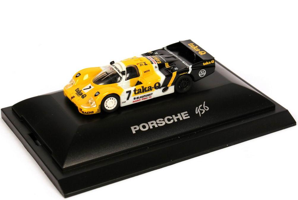 Foto 1:87 Porsche 956 L 24h von LeMans 1986 taka-Q, Joest Racing Nr.7, Ludwig / Barilla / Winter Trumpeter 16108