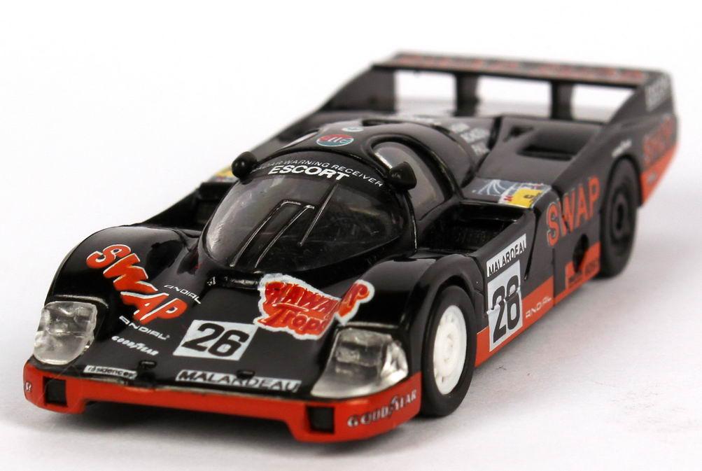 Foto 1:87 Porsche 956 L 24h von LeMans 1984 Swap Shop Nr.26, Rondeau / Henn / Paul Jr. (2. Platz) Trumpeter 16111