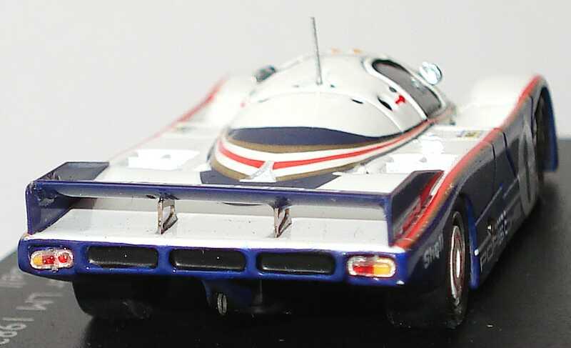Foto 1:87 Porsche 956 LeMans 1982 Porsche, Rothmans Nr.1, Ickx / Bell (Siegerfahrzeug) Spark 87S018