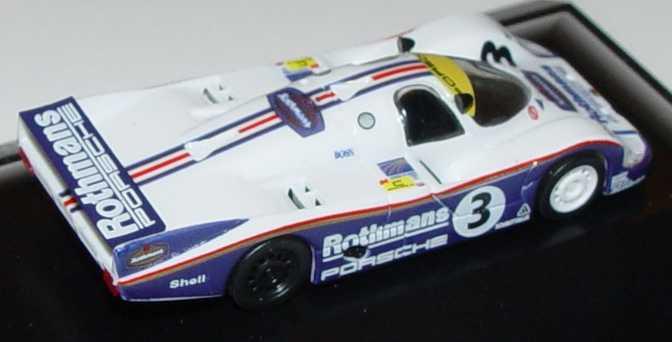 Foto 1:87 Porsche 956 Rothmans Nr.3, Jones/Schuppan (G.P. Silverstone 1983) Trumpeter