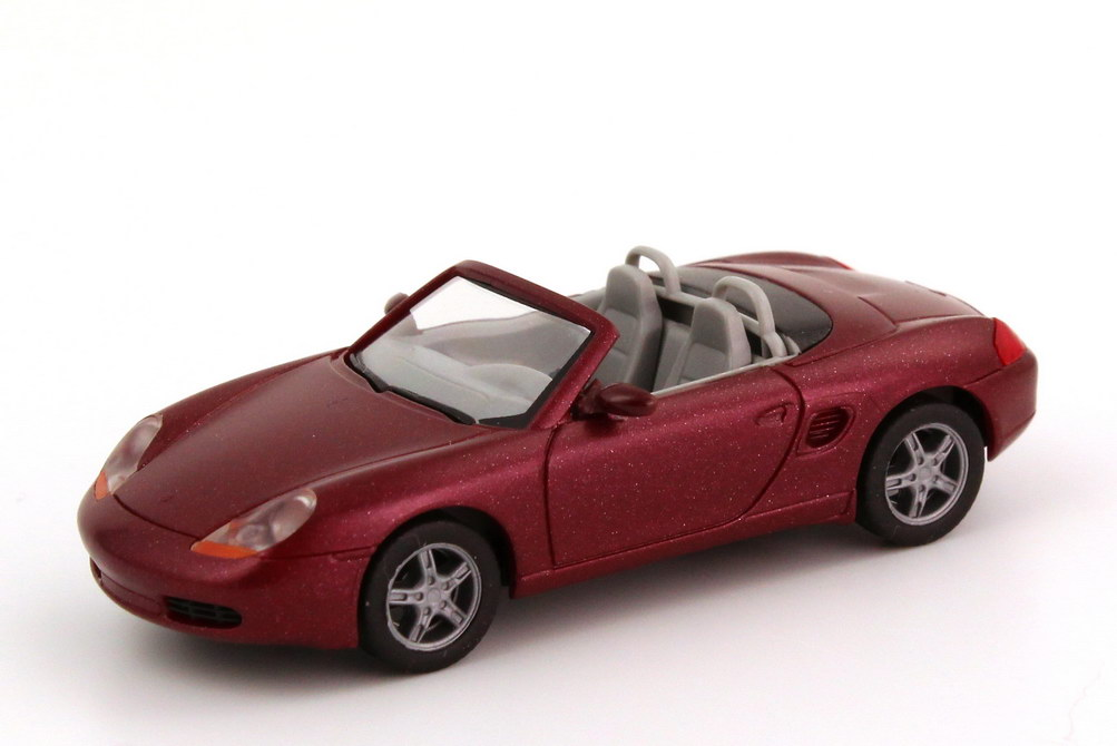 Foto 1:87 Porsche Boxster (986) arenarot-met. herpa 032193
