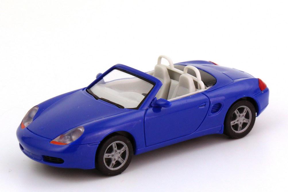 Foto 1:87 Porsche Boxster (986) brillantblau herpa 022194