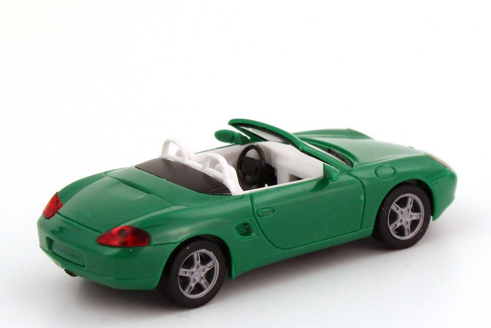 Foto 1:87 Porsche Boxster (986) grün herpa 022194