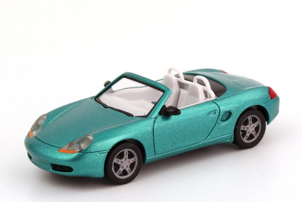 Foto 1:87 Porsche Boxster (986) ozeanjade-met. herpa 032193