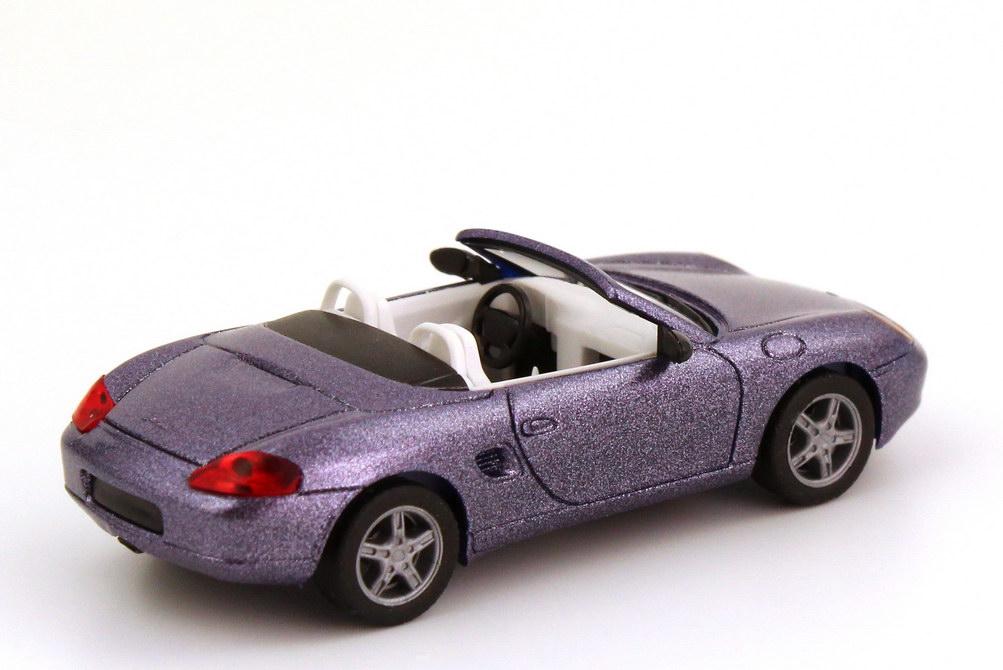 Foto 1:87 Porsche Boxster (986) veilchenblau-met. herpa 032193