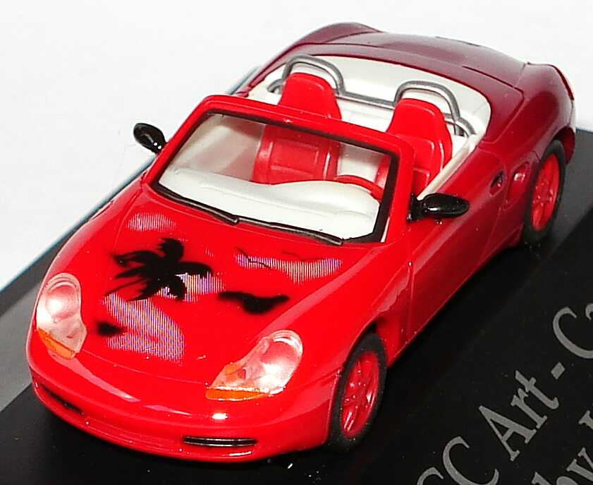 Foto 1:87 Porsche Boxster HCC Art-Car ´97 designed by Harald Brous herpa