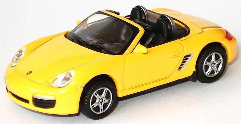 Foto 1:87 Porsche Boxster S (987) apricotgelb Welly