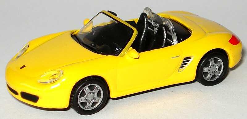 Foto 1:87 Porsche Boxster S (987) gelb Malibu International