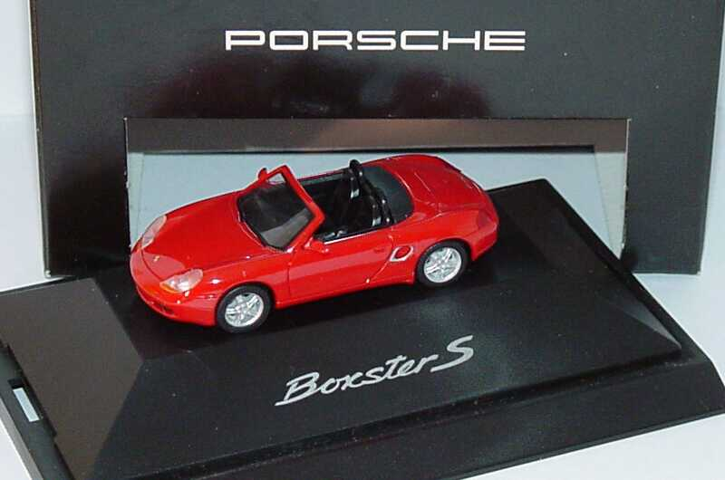 Foto 1:87 Porsche Boxster S rot Werbemodell herpa WAP02202899