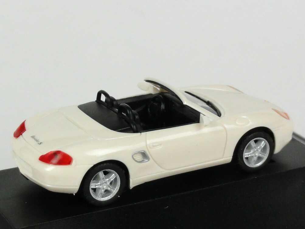 Foto 1:87 Porsche Boxster S weiß Werbemodell herpa WAP02202999