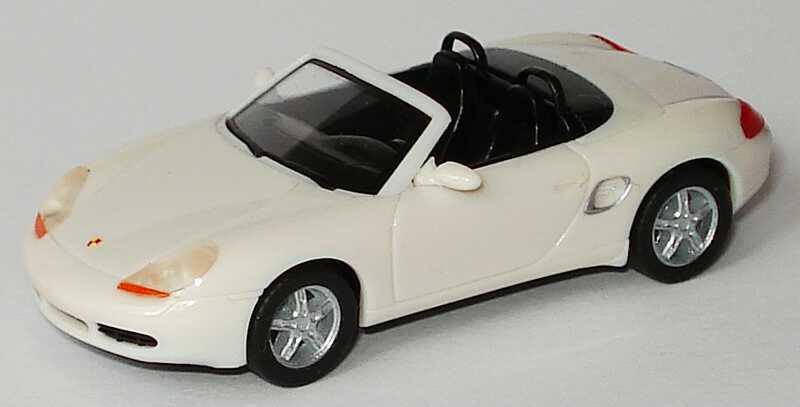 Foto 1:87 Porsche Boxster S weiß (ohne PC-Box) herpa WAP02202999