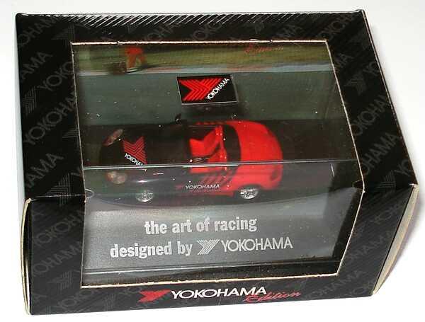 Foto 1:87 Porsche Boxster Yokohama - the art of racing designed by Yokohama herpa