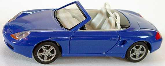 Foto 1:87 Porsche Boxster brillantblau herpa 022194