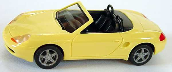 Foto 1:87 Porsche Boxster (986) pastellgelb herpa 022194