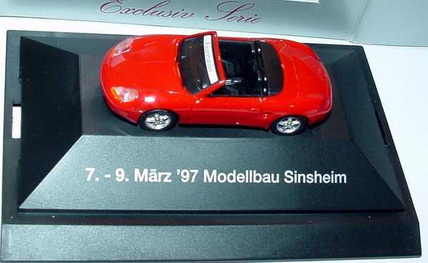 Foto 1:87 Porsche Boxster rot (Modellbau Sinsheim ´97) herpa