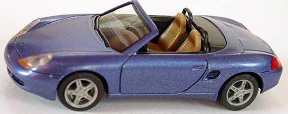 Foto 1:87 Porsche Boxster veilchenblau-met. herpa 032193