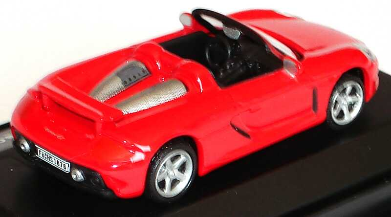 Foto 1:87 Porsche Carrera GT rot Malibu International 112