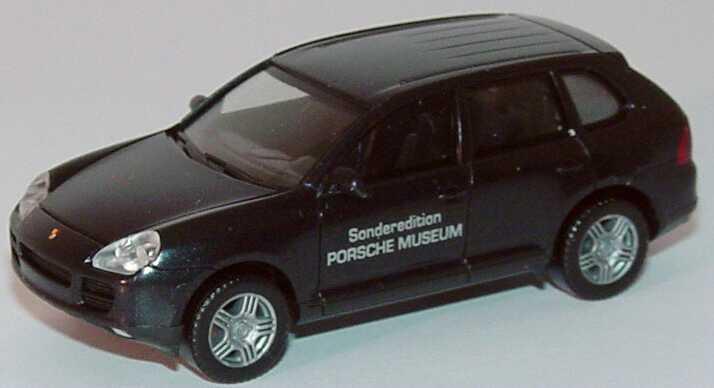 Foto 1:87 Porsche Cayenne S schwarz-met. Sonderedition Porsche Museum Werbemodell herpa