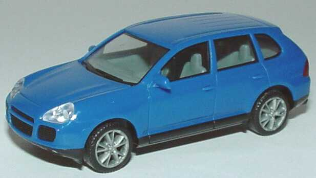 Foto 1:87 Porsche Cayenne Turbo blau herpa 023153
