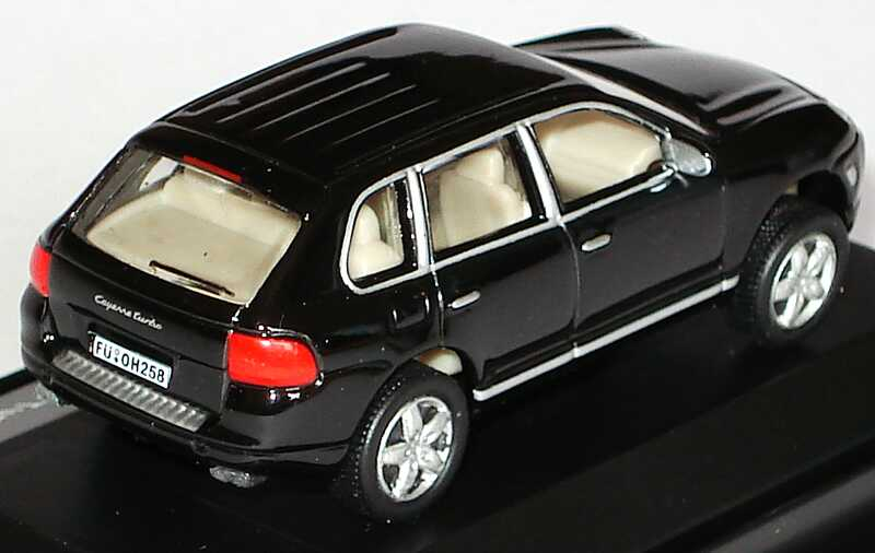 Foto 1:87 Porsche Cayenne Turbo schwarz Malibu International 114