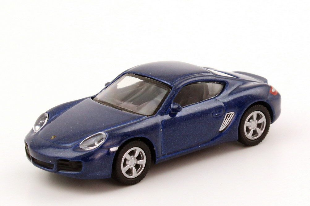 Foto 1:87 Porsche Cayman S blau-met. Schuco 25120