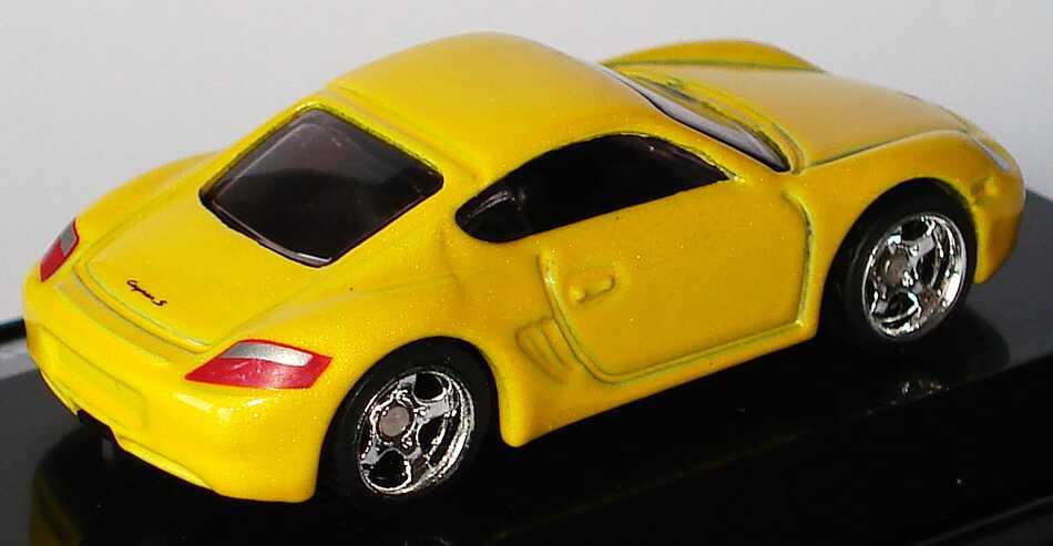 Foto 1:87 Porsche Cayman S gelb-met. HotWheels L7181